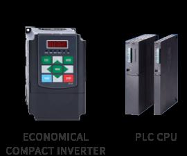 ECONOMICAL COMPACT INVERTER / PLC CPU
