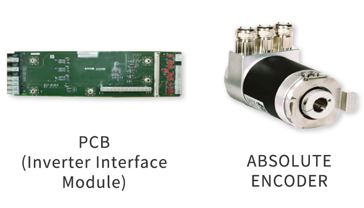 PCB (Inverter Interface Module) / ABSOLUTE ENCODER